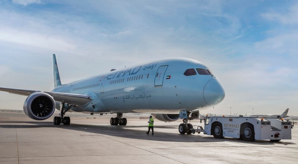 Etihad Greenliner aircraft completely carbon neutral in 2021 offsetting 80,000T of CO2