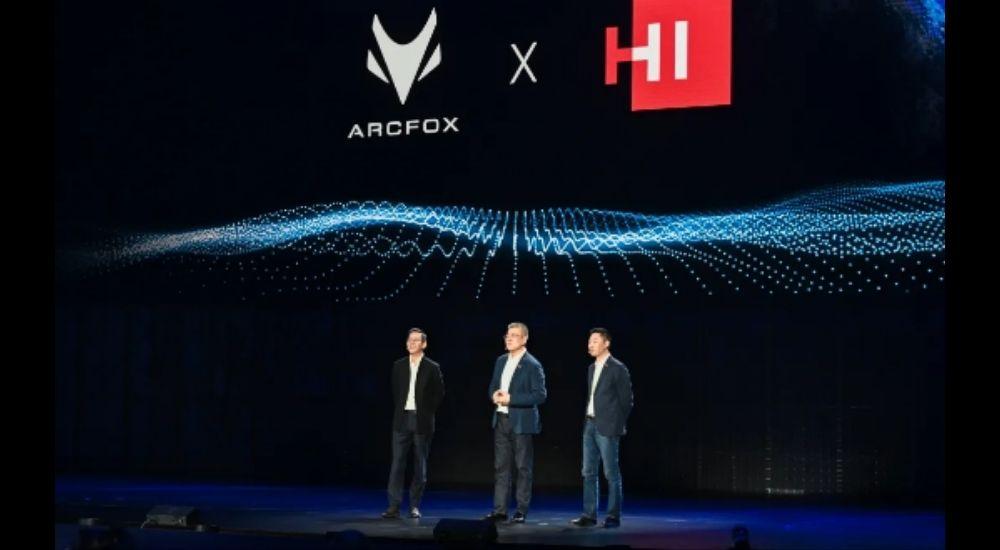 Huawei supplies five intelligent systems in ARCFOX Alpha-S HI, first premium intelligent EV