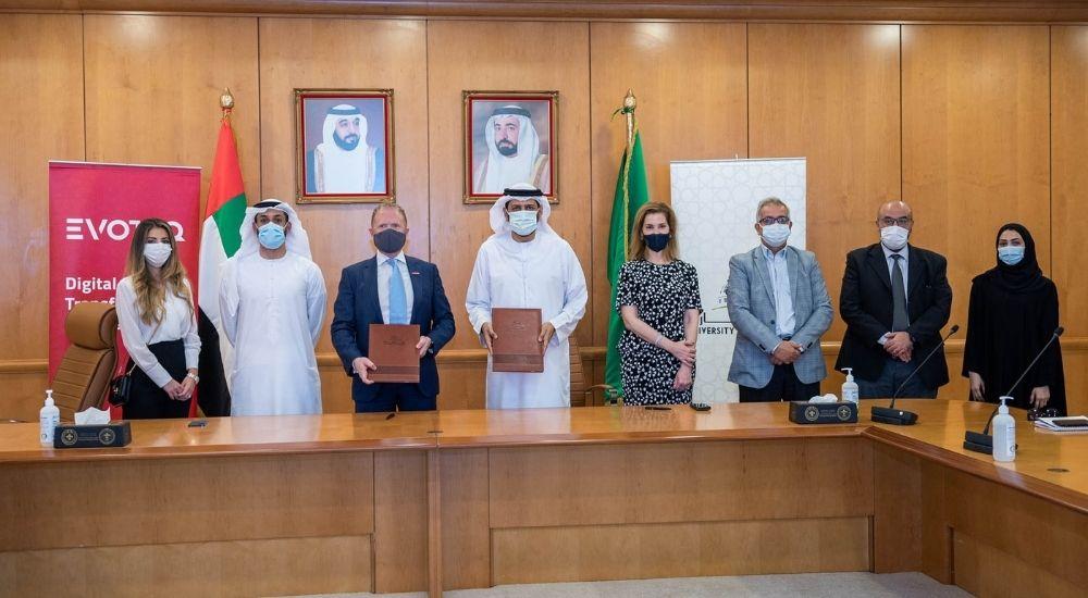 University of Sharjah, EVOTEQ sign partnership to enhance knowledge, innovation amongst students