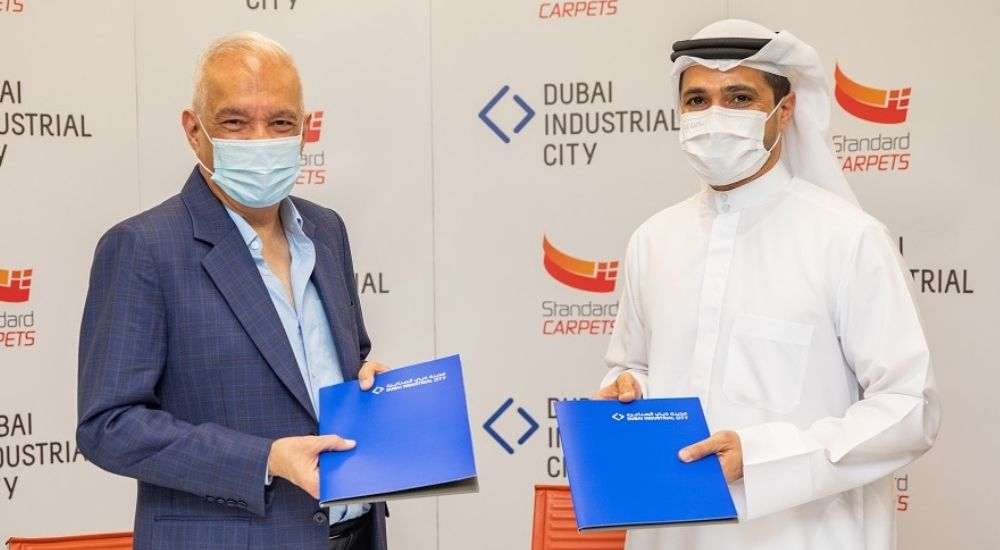 The region's largest carpet factory, Standard Carpets, expands in Dubai Industrial City