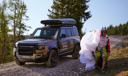Extreme testing for Land Rover Defender during 50,000km Red Bull X-Alps competition