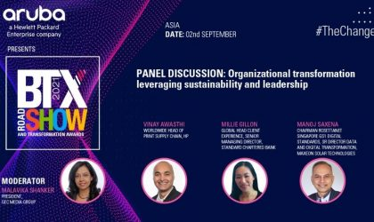 Panel Discussion: Organizational transformation leveraging sustainability and leadership