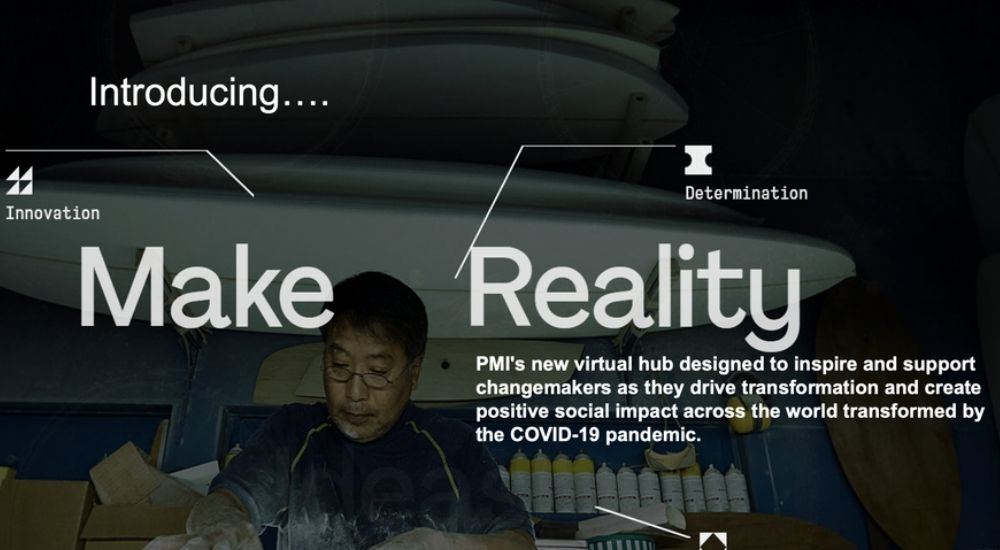 PMI Launches Make Reality Virtual Hub to Inspire People to Turn Ideas into Reality