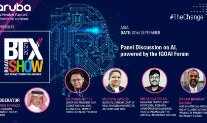 Panel Discussion on AI, powered by the IGOAI Forum – BTX Asia