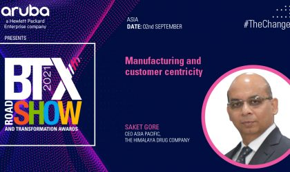 Manufacturing and customer centricity – Saket Gore