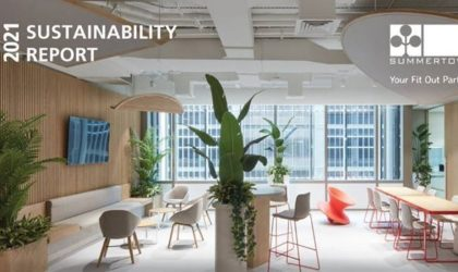 Summertown Interiors offers LEED certification above 2,000sqm, 30% less landfill